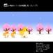 小鳥歩く1-3幼稚園_桜(ループ)