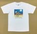 Jean-Pierre Anpontan アートプリントTシャツ「夢があるのなら」白Tシャツにオリジナルアート+ロゴ メンズ レディス キッズ