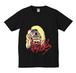 【生きてるヤツはクソ笑う】ジョーフェイスプリントTシャツ(黒)