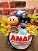 おむつベビーカー/おむつケーキ/オムツケーキ/ANAP/アナップ/出産祝い/誕生祝い/お祝い/アンパンマン/バイキンマン/プリちぃビーンズ/ディズニー/おむつバイク