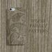 Wood Paisley 木目彫刻プリント ヴィンテージ スマホカバー