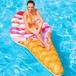 予約 浮き輪 ビーチフロート アイスクリーム 可愛い インスタ映え プール プールパーティー ナイトプール アイスクリームマット フロートマット うきわ 夏 かわいい 大人 大きいサイズ 大型 m925