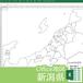 新潟県のOffice地図【自動色塗り機能付き】