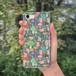 スマホケース(iPhone & Android)キノコ / 色:グリーン