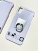 ホーム画面風iPhoneケース(リング付き) iPhoneX/XS