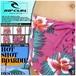 U03-506 送料無料 リップカール 水着 ボードショーツ 花柄 かわいい ビーチ プール 海 ピンク RIP CURL