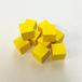 黄14mm木製キューブ(約100個)
