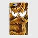 #002-004 iPhone8対応 クール系・ロック系 《ヘビ柄風スカル》iPhoneケース・スマホケース 作:んご Xperia ARROWS AQUOS Galaxy