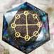 ヤタノカガミ神聖オルゴナイト(六芒星)