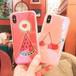 オリジナル iphoneX カバー 果物 桜んぼ スイカ 個性 iphone8 ケース オシャレ アイフォン7プラス カバー ブルーレイ ジャケット型 カワイイ 芸能人愛用 送料無料