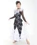 ドレス・ワンピースNo.4531/ ブラック×ホワイト