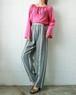 Emporio Armani striped linen pants