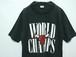 1980's NBA CHICAGO BULLS ワールドチャンピオンTシャツ 黒 表記(M) シカゴブルズ