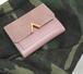 オリジナル 三つ折り 財布ケース コイン ウォレット お金入れ 革 フェミニンが溢れるのV 型財布ケース エレガント 大人 安価