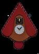ピロンディーニ時計 105-C-Red