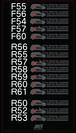 BMW MINI用 ドラレコステッカー