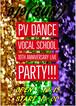 ☆大人チケット☆2018年9月9日(日) PVダンス・ボーカルスクール10周年発表会チケット販売