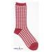 YUiNO-Gingham check-Socks