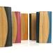 木と革の大容量長財布 --- 贅沢な総革仕上げ