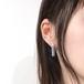 色鉛筆耳飾り