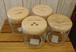ガラスキャニスター4種 コーヒー、ティー、シュガー、ソルト