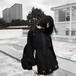 ゴスロリ系 ミニスカ ハート プリーツスカート 病みかわいい 暗黒少女 ゴシック ストリート系 オルチャン 原宿系 10代 20代
