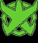 BADFALLロゴステッカー アシッドグリーン10