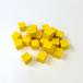 黄10mm木製キューブ(約150個)
