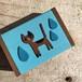 小さな猫の木箱 (恵の雨)