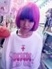 再入荷♡xxx(きすきすきす)×Zzz...tokyo BIGTシャツ