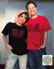 D.K HOLLYWOOD 25周年記念オリジナルT-SHIRT(黒・赤2枚組セット)+ 25th Anniversary DVD 「波乱爆笑の軌跡」