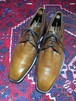 .MAGNANNI LEATHER PLAIN TOE SHOES MADE IN SPAIN/マグナーニレザープレーントゥシューズ 2000000031460