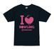 I ♡ BOWLING Tシャツ(ブラック)