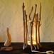 流木の照明-2