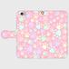 スマホケース(iPhone・Android対応)  【肉球柄ピンク】