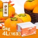 伊豆柿 4L 16玉(5kg)