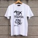 "S/S TEE ""THUGLIMINALOGY"" (WHITE) / GAVIAL"