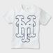 YH Mets Kids T-Shirt (WHT×NVY)