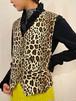 (TOYO) leopard pattern vest