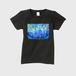 「オーロラカーテン」レディースTシャツ