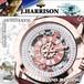 【J.HARRISON】JH-037PW 手巻き付&自動巻