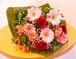 赤とピンクの花束(GH5501)