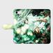 ▪️iPhone7用 Kane Dennis × Atelier Lapinus コラボ タイムグリーン 手帳型ケース