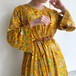 (LOOK) paisley & flower print dress