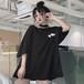 【トップス】無地半袖プルオーバーラウンドネックTシャツ22205082