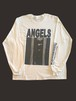 """ANGELS""long sleeve T-shirt (White / MERZ-0180)"