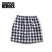 Working Class Heroes Houndstooth Fleece Skirt