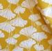 <Royal Ginkgo> mustard カットクロス生地 45cm x 67cm