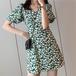 【dress】ファッションend清新!スウィート花柄ワンピース合わせやすい M-0315