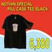 NOTHIN'SPECIAL / PILL CASE TEE  BLACK